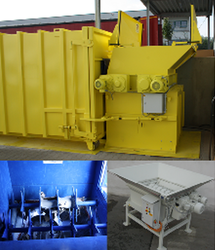 Industrial Type Cardboard Crusher Pierce Waste Handling